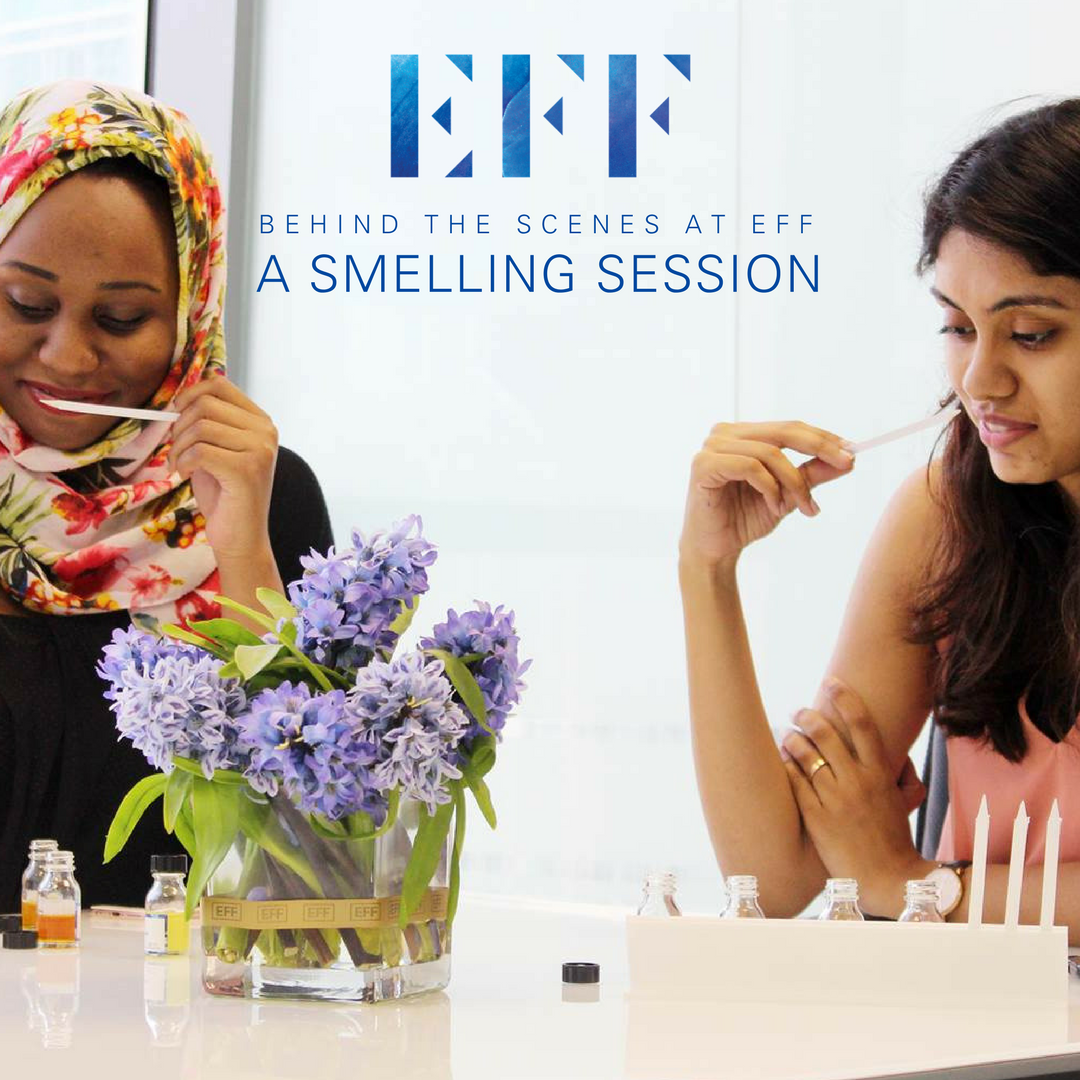Behind the Scenes At EFF: A Smelling Session